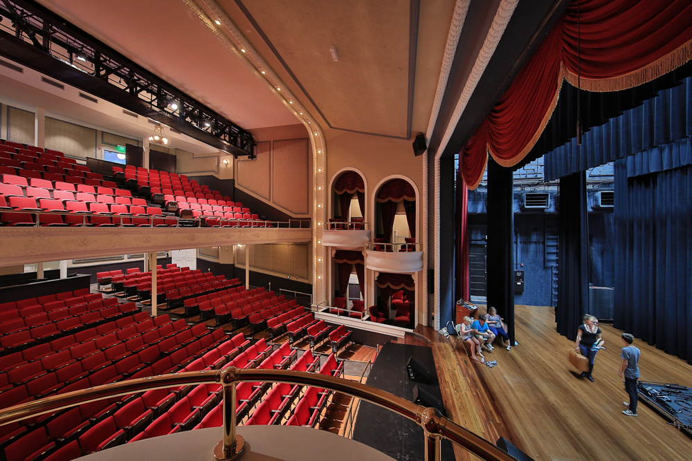 Historic Masonic Theatre 545 seat venue